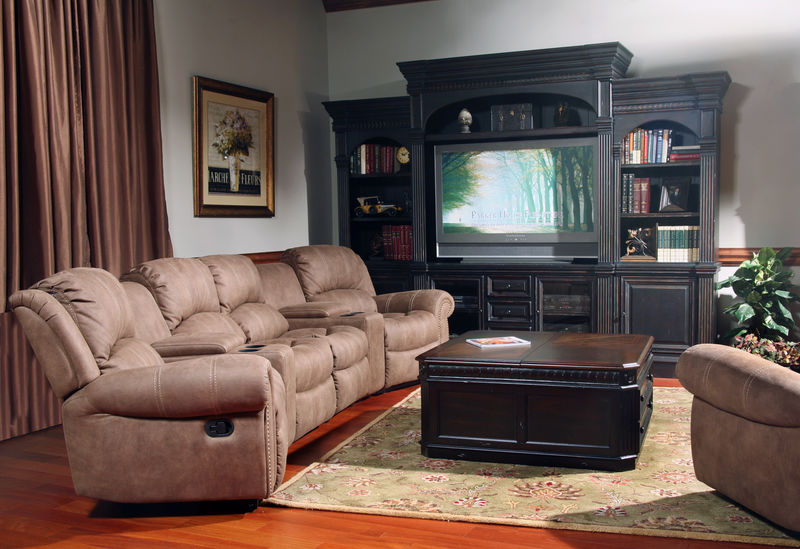 Poseidon Home Theater Set in Kahlua