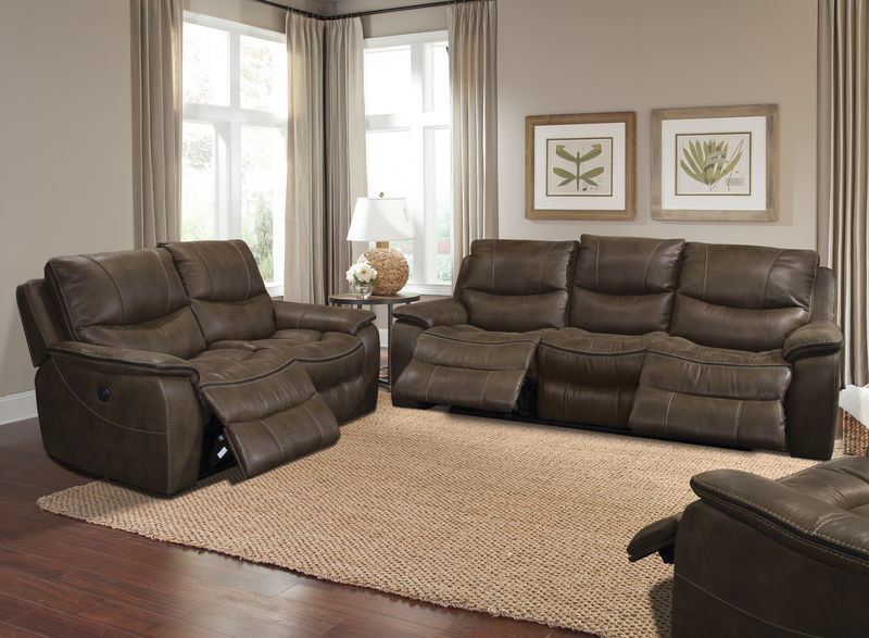 Remus Reclining Living Room Set in Stone