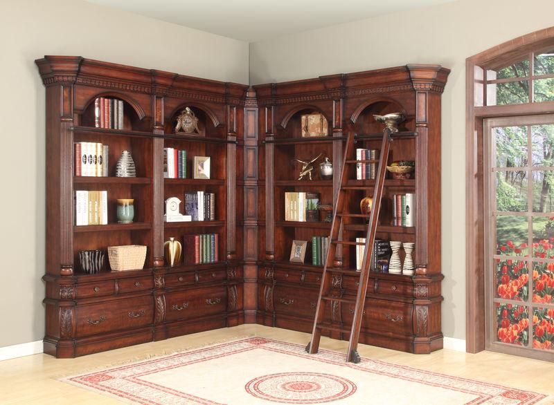 Versailles Museum Corner Bookcase - Large