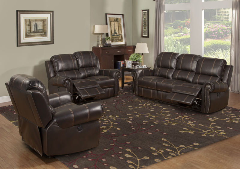 Webber Reclining Living Room Set