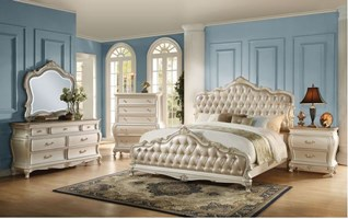 Parma Bedroom Set in White