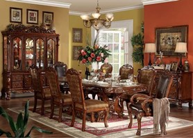 Pisa Formal Dining Room Set in Cherry
