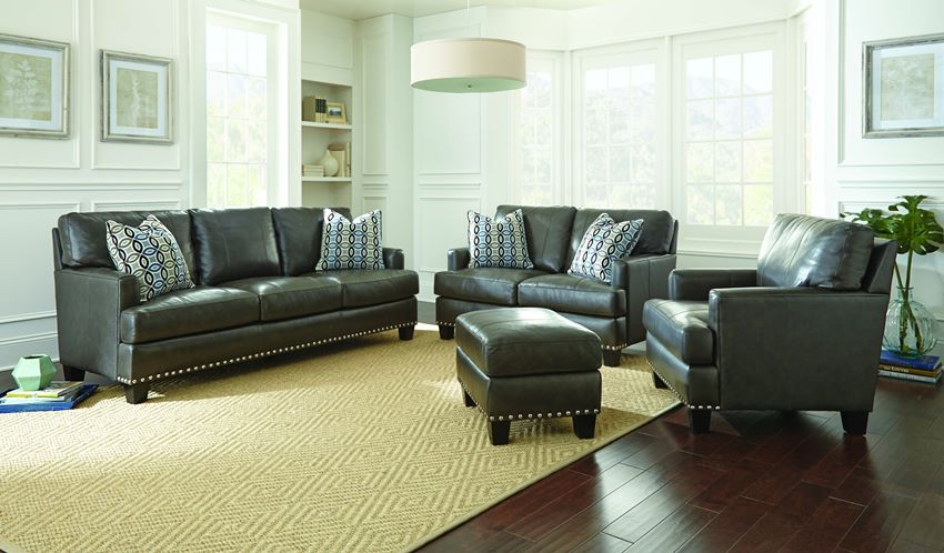 Patrese Leather Living Room Set
