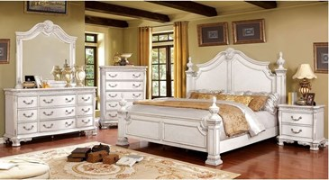 Verona Bedroom Set in White