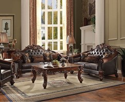 Walther Formal Living Room Set in Cherry