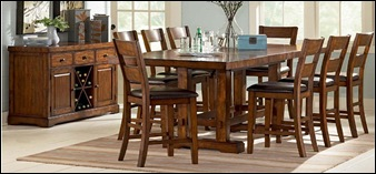 worcester oval to round formal dining room table sets